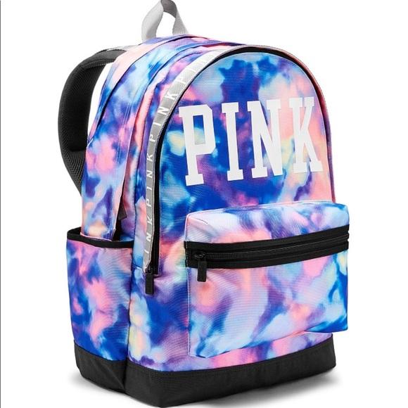 236b1a4cf9d58 Pink VS campus backpack NWT